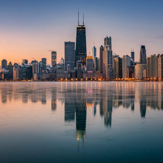 The best skyline in the world, The Chicago Illinois skyline Illinois cityscape