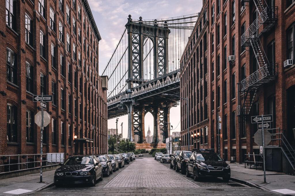 Manhattan Bridge Brooklyn Dumbo New York City