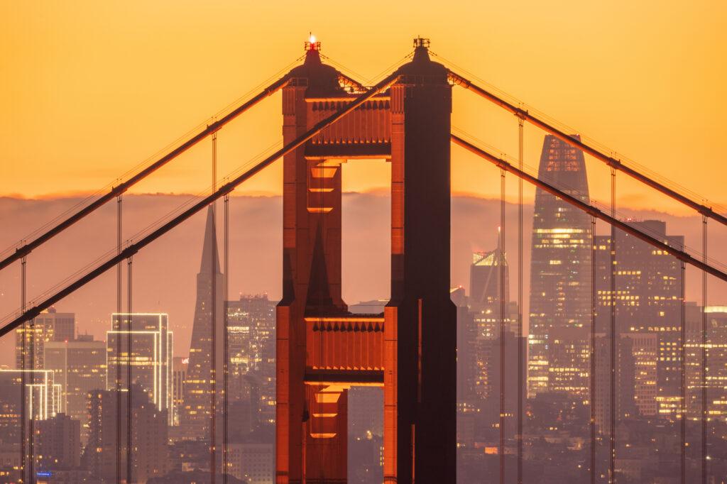 Golden Gate Bridge San francisco Bay Area California USA