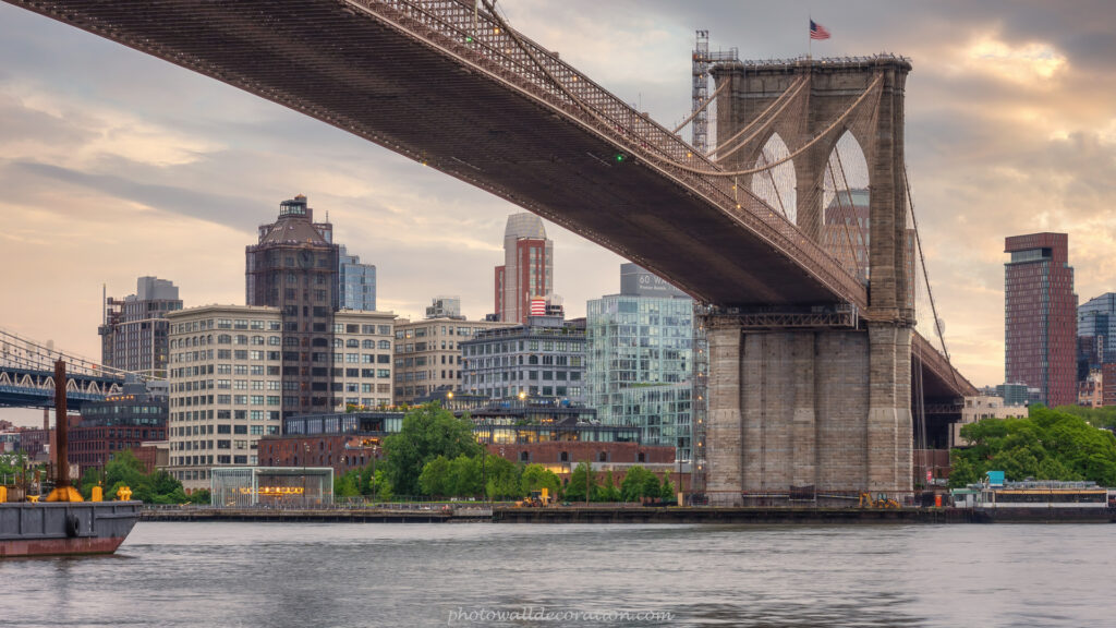 Free Desktop WallPaper photowalldecoration Brooklyn Bridge