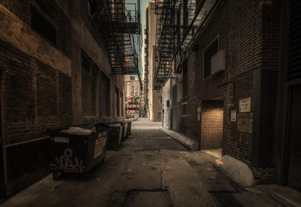 Chiacgo Illinois Alley Urban Downtown City