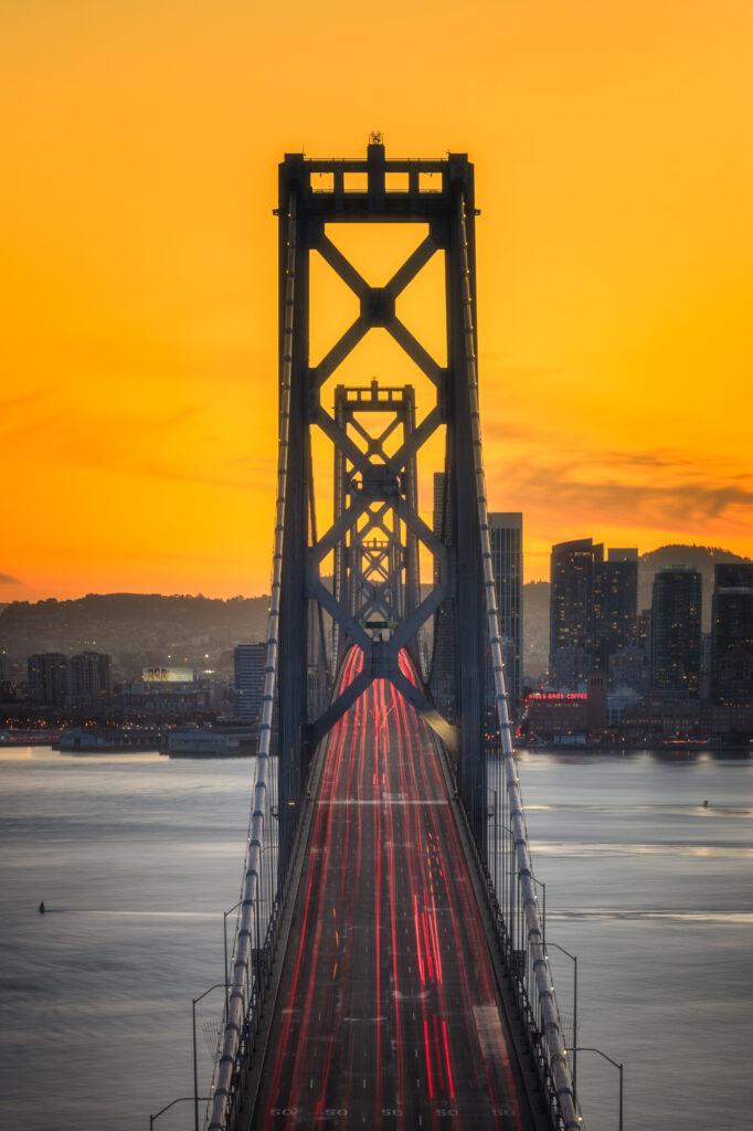 Bay Bridge San Francisco Treasure Island Bay Area