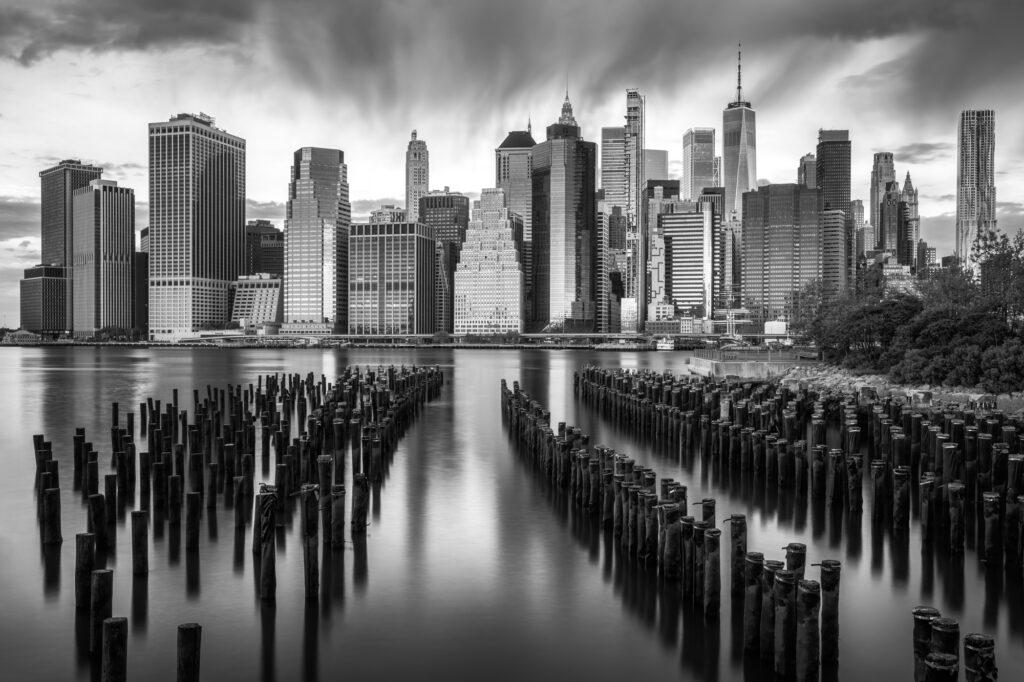 Lower Manhattan New York City Old Pier Nr 1