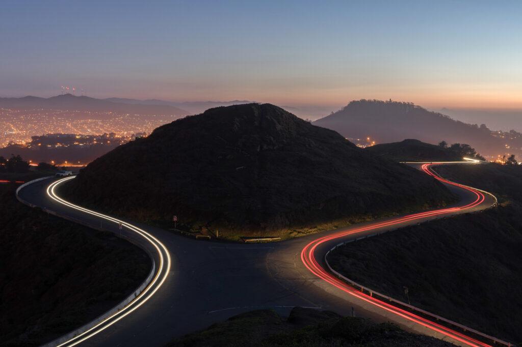 Twin Peaks San Francisco Bay Area California Landscape