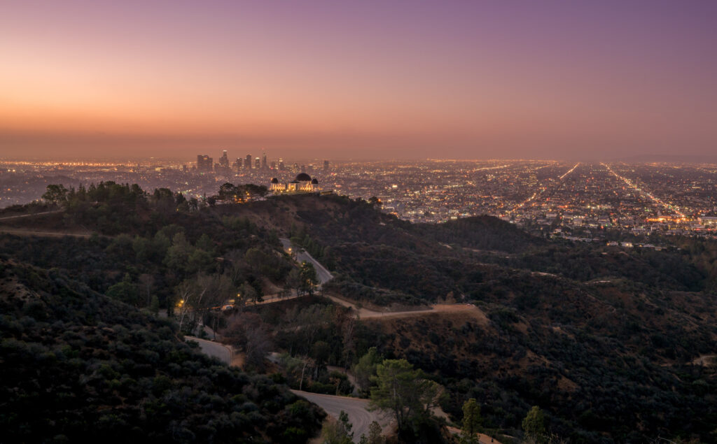 Griffith Observatory Los Angeles California USA America
